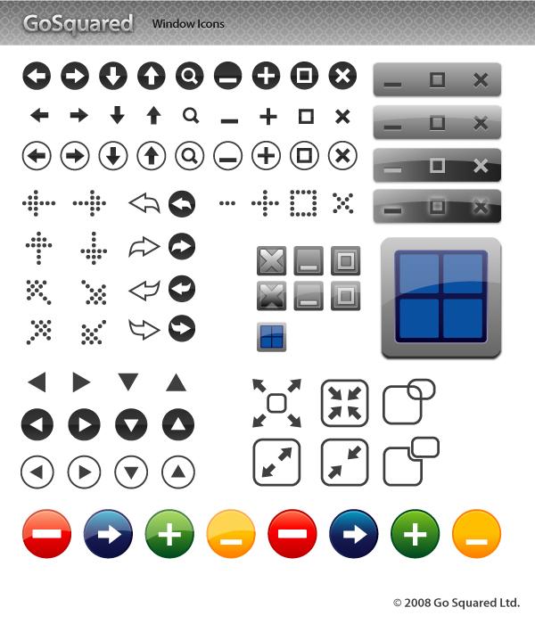 85 Vector Window Icons